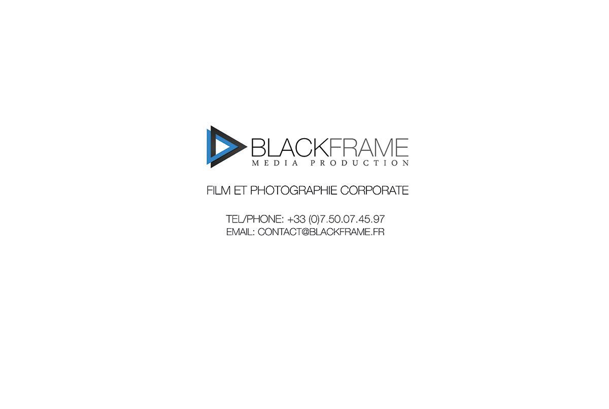 blackframe Media production